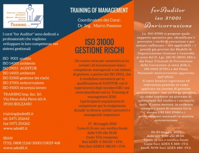 Training of Management